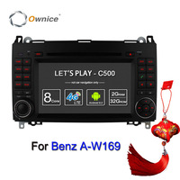 Ownice 4G SIM LTE Android6.0 8 Core 32G ROM Auto DVD GPS Navi Voor Mercedes a-klasse W169 Sprinter W209 Crafter Viano Vito LT3 W245