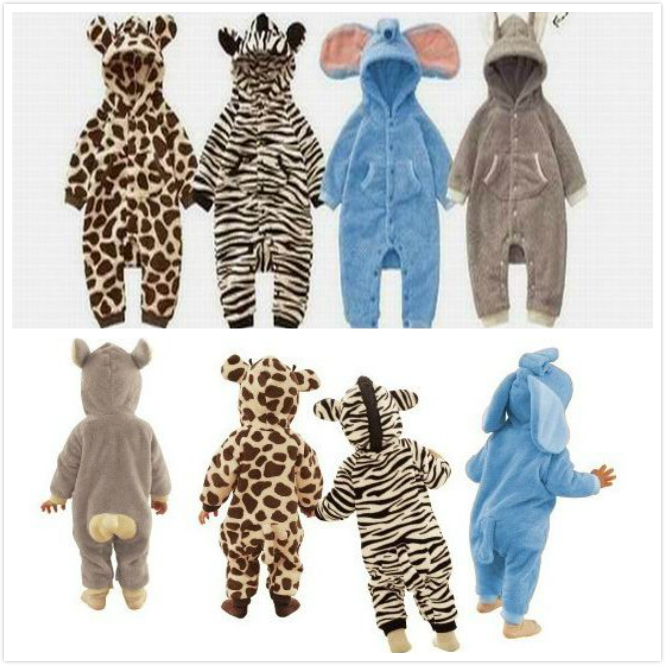 Baby Clothing Jumpsuits Baby Climb Clothes Super Fleece Cute