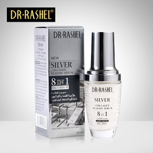 2 pcs Silver Collagen Elastin Face Serum Moisturizing Essence Anti Wrinkle Aging DRRASHEL 40 ml diet esthetic essence caviar antiwrinkling filler serum 30 ml