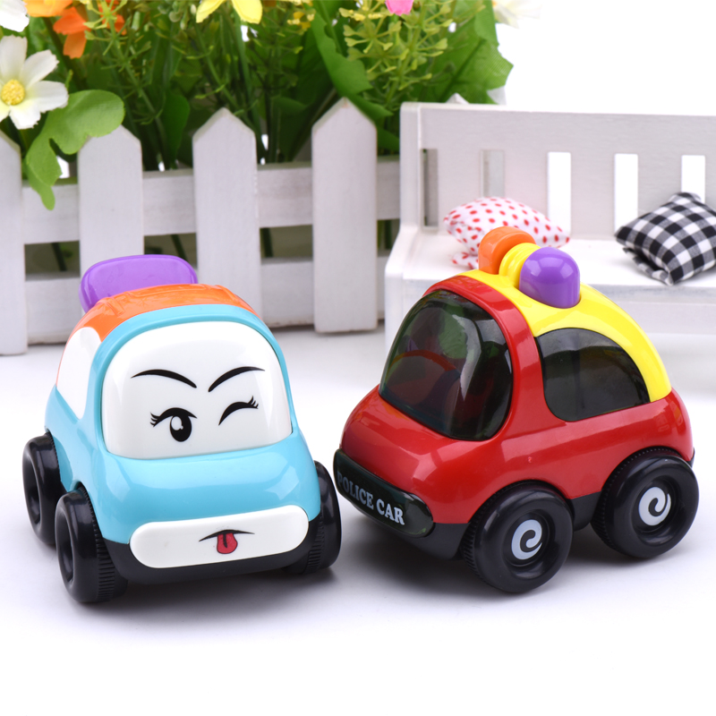 2017 New Wheels Mini Baby Toys Cars Juguetes Candy ABS Cartoon Boy Toy Car Dump Truck Kids Toys For Children Christmas Gift