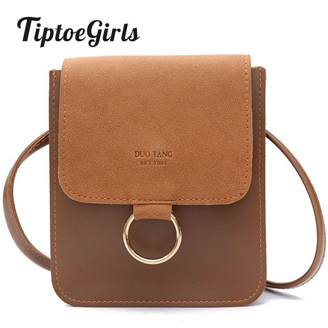 f24e64630683 Hong Kong Style Retro Frosted Mobile Phone Small Bag Female Autumn and  Winter New Korean Version of the Simple Shoulder Bag Tide-in Shoulder Bags  from ...