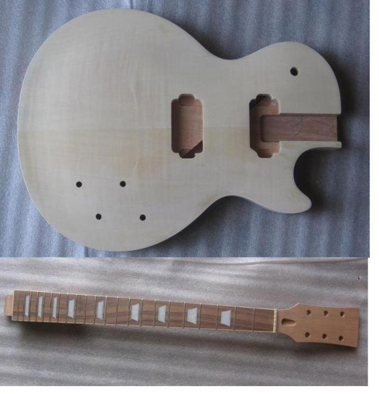 high quality Unfinished electric guitar body with neck china s guitar high quality unfinished tl electric guitar ash diy guitar real photos free shipping