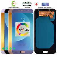 Super Amoled LCD d'origine pour Samsung Galaxy J7 Pro 2017 J730 J730F écran LCD et écran tactile numériseur assemblée