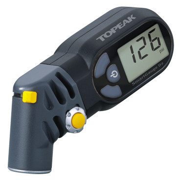Topeak TSG-D2 Digital SmartGauge Presta/Schrader Electronic Tire Air Pressure Gauge/LCD Display/rotating SmartHead