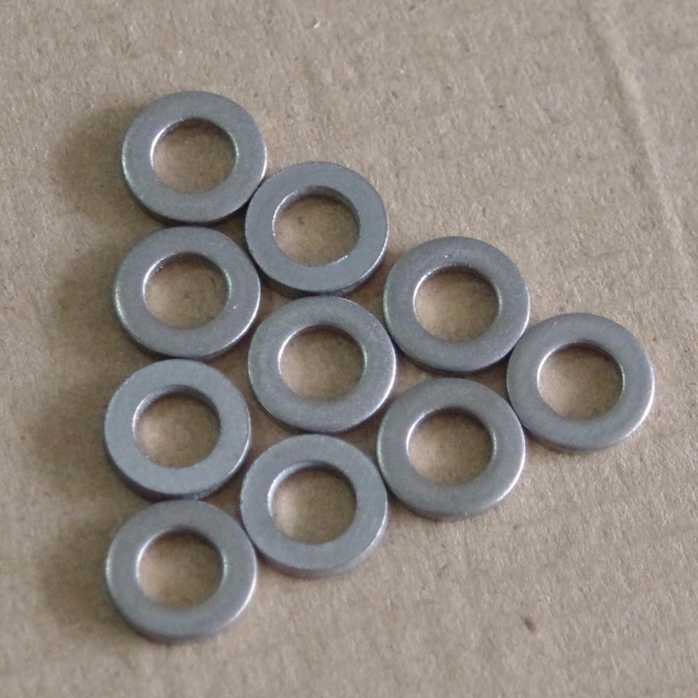 Ti 6AL/4V Titanium GR5 M3/M4/M5/M6/M8 Spacer Washers