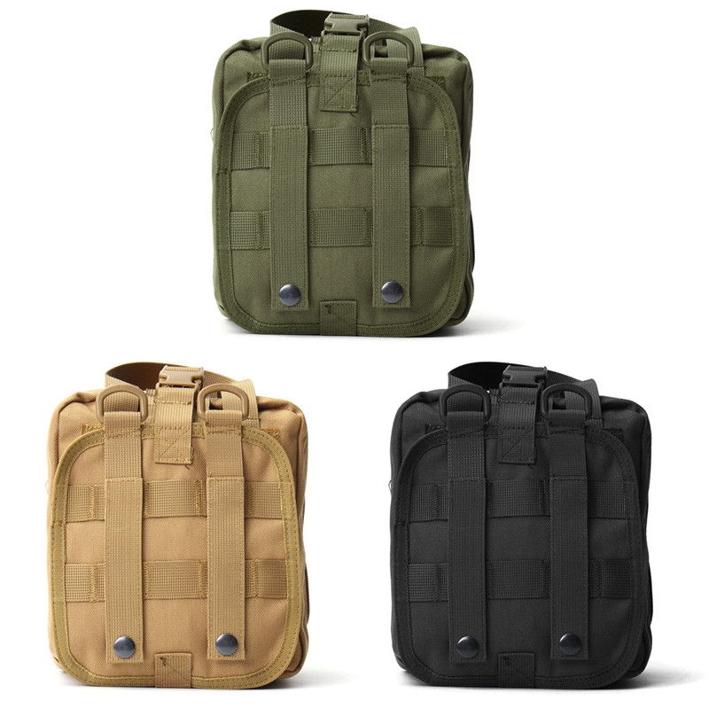 Tactical Medical First Aid Bag MOLLE Medical Military Utility Pouch Rescue Package for Travel Hunting Hiking Outdoor Sports Bags