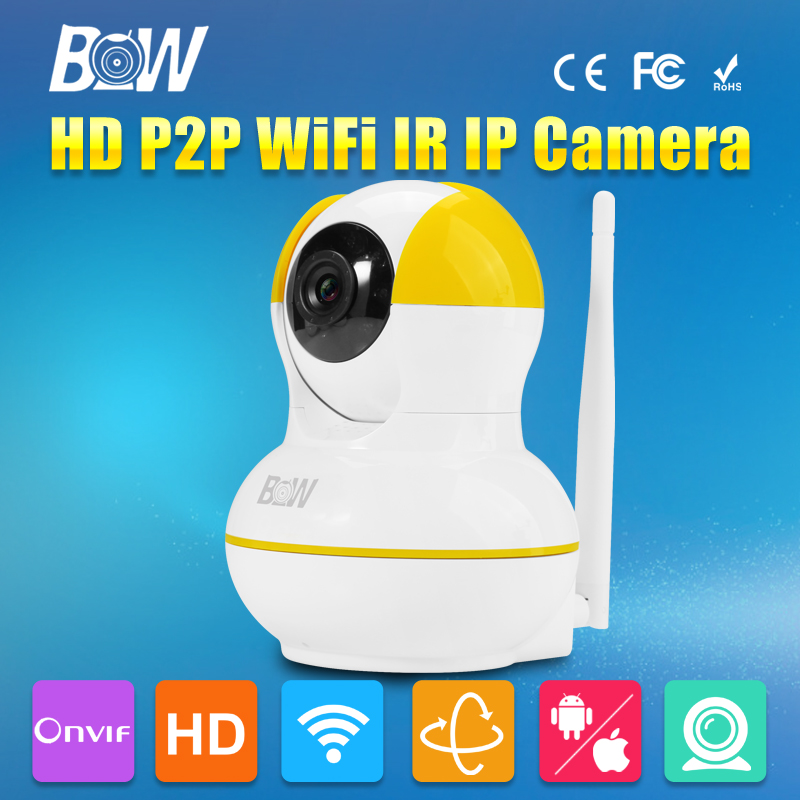 ФОТО BW Wireless IP Camera WiFi CCTV HD Network Video Surveillance Camera 720P P/T 3.6mm Megapixel Baby Monitor Wi Fi Security Camera