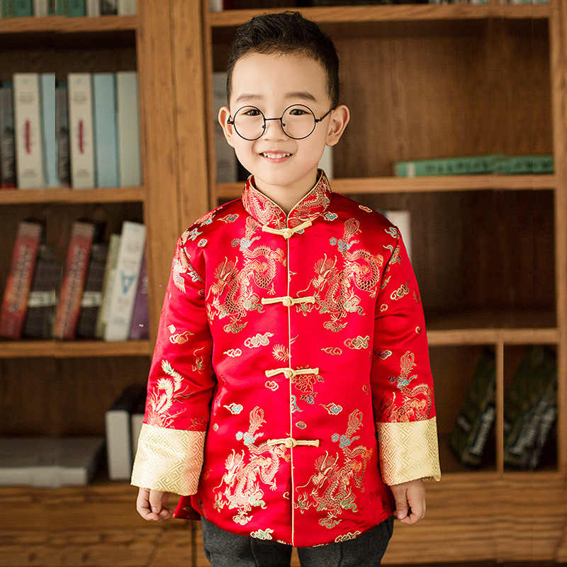 0ba7500c5cac Detail Feedback Questions about Red Tang Winter Children Cheongsam ...