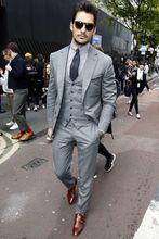 Grey 3 Piece Suit Reviews - Online Shopping Grey 3 Piece Suit ...