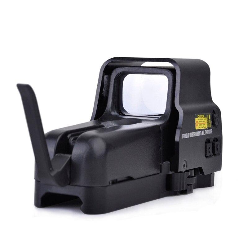 SEIGNEER tactique chasse Airsoft portée rouge vert Dot viseur lentille de protection holoviseur pour 557 Type