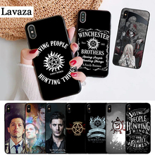 Lavaza Supernatural Silicone Case for iPhone 5 5S 6 6S Plus 7 8 X XS Max XR бордюр fap supernatural crema london 5 5x30 5