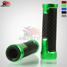 For Pit Dirt Bike Motorcycle Handlebar Hand Grips 22mm 7/8 Left and Right Aluminum plastic Handle Bar Hand Grips Universal 7 8 left