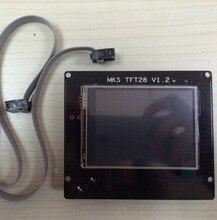 3D Printer Ramps 1.4 2.8 Inch TFT Touch Screen U disk MKS TFT28 V1.2
