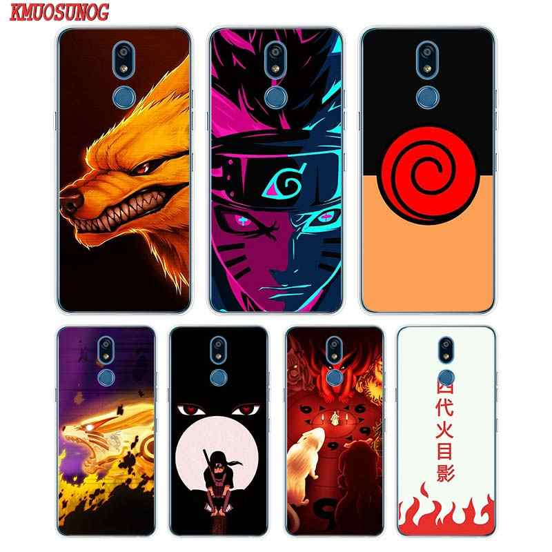 Siliconen Soft Phone Case Anime Naruto Voor Lg K50 K40 Q8 Q7 Q6 V50 V40 V35 V30 V20 G8 G7 g6 G5 Thinq Mini Cover