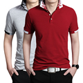 New Brand Shirts For Men Cotton Polo Shirt  Plus Size 3XL Tops Tees Free Shipping