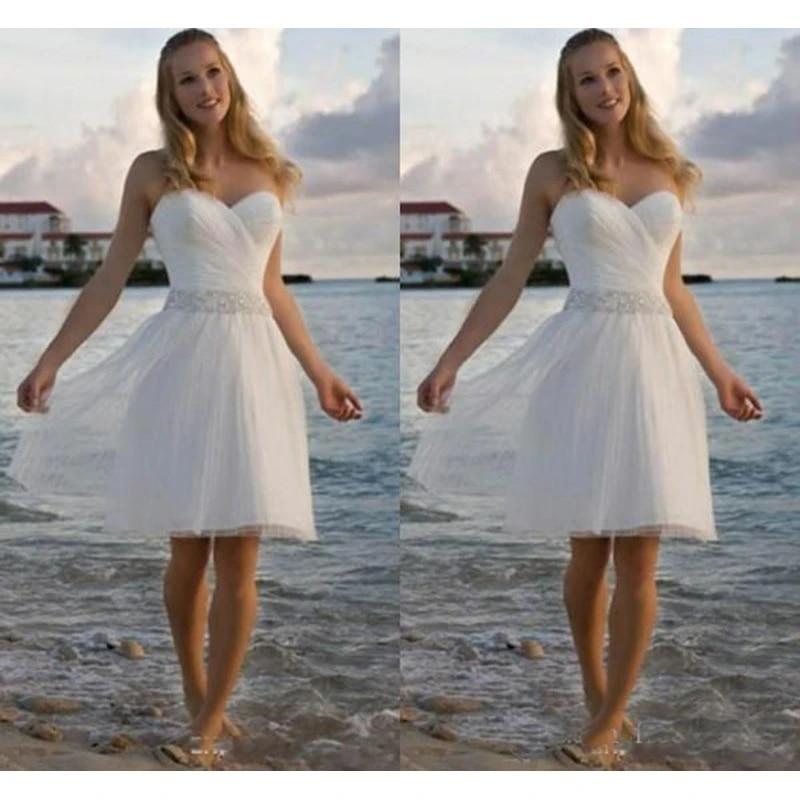 beach short casual beach short wedding dresses