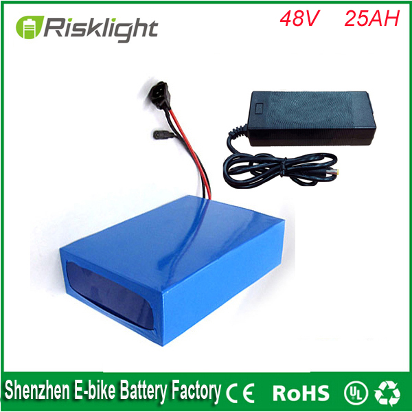 Electric Bicycle Battery 48v 25ah E Bike Battery Pack 48v
