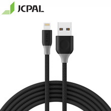 JCPAL Original MFi Certified Cable for Lightning to USB 8 pin iPhone XS Max 2.4A