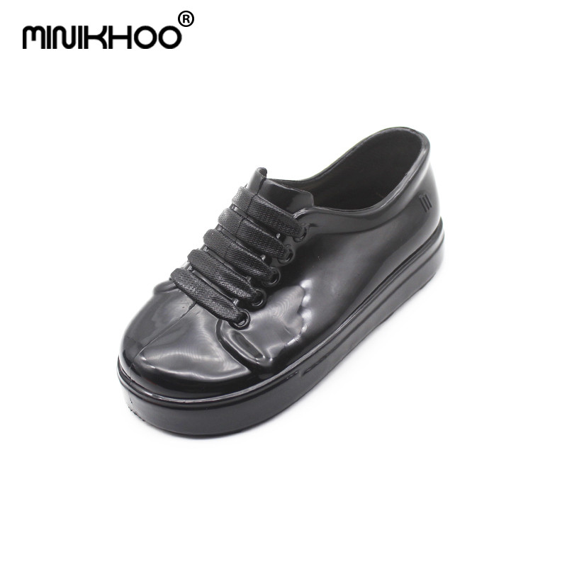 Mini Melissa 2018 New Girl Jelly Sports Shoes Boy Casual Childrens Shoes Mini Melissa Princess Shoes with Breathable Shoes