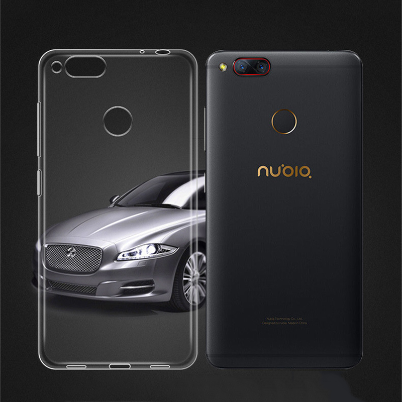 For ZTE nubia z17 mini Case Transparent Capa Ultra Thin Soft TPU Clear Case For ZTE nubia Z17 Mini 5.2 Phone Accessories Coque