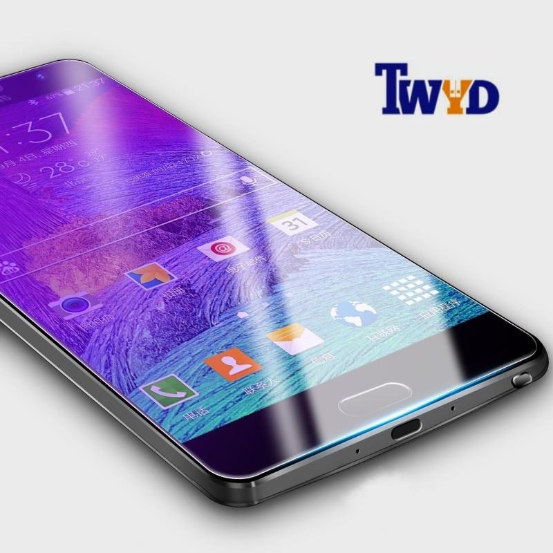 Härdat glas för Samsung Galaxy S3 S4 S5 S6 S7 kant S8 Plus S4 mini S5 mini Obs 2 3 4 5 Skärmskydd främre glasfilm
