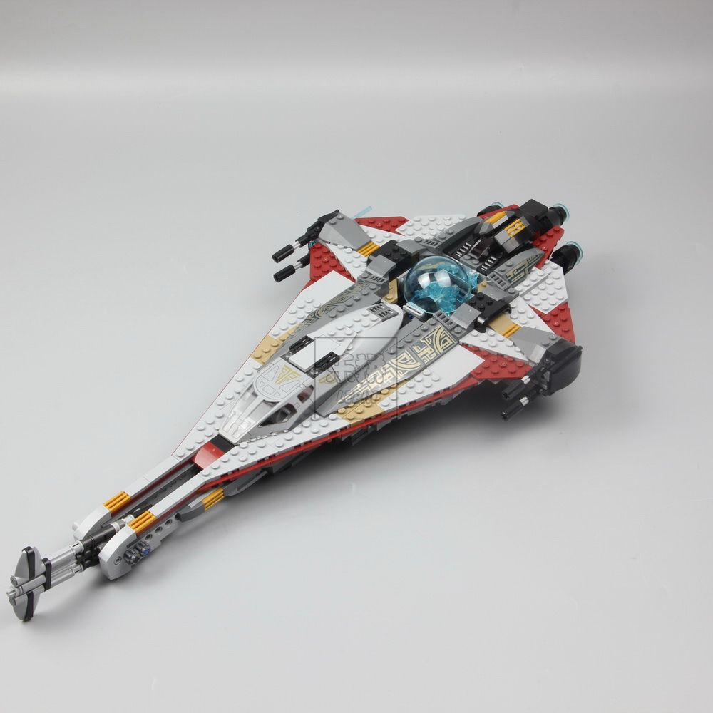 Lepine 05113 800pcs Star Wars Series The Arrowhead Set Building Lego 75186 Starwars Blocks Toys Children Model Gifts Compatible In From Hobbies On