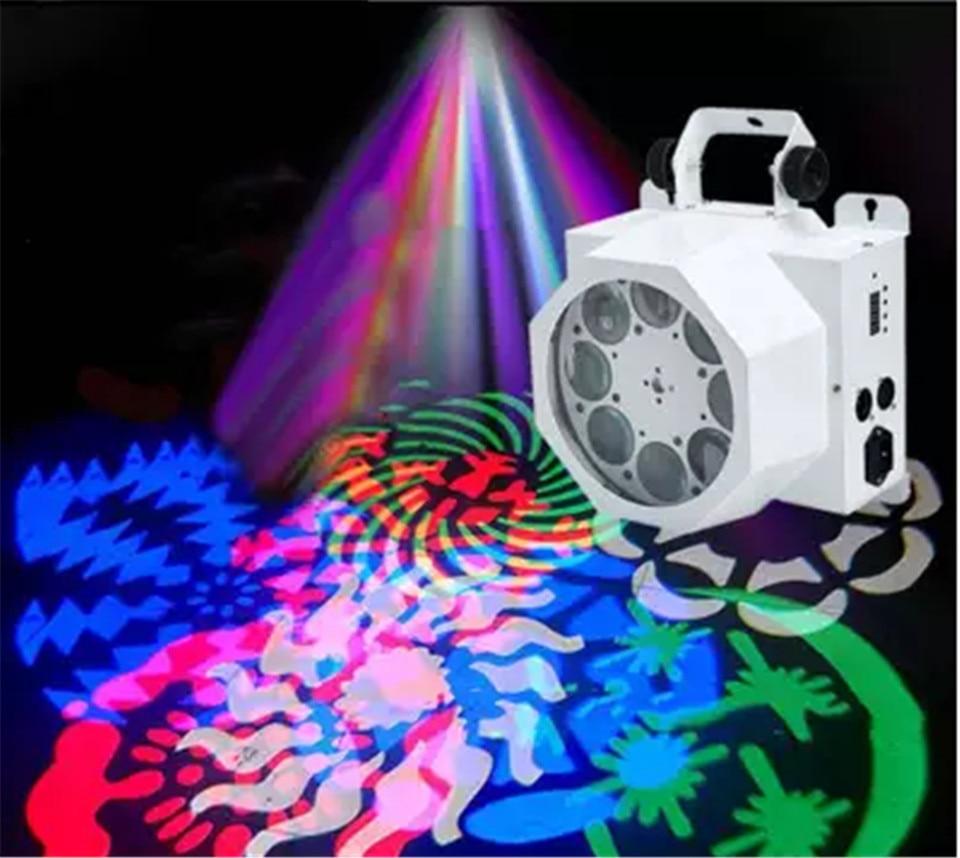 Latest 8 eye pattern light RGBW mixed color LED 40W light DMX stage 8 channel mini LED mobile light LED RGBW DJ mini LED point led bar american dj color burst 8 dmx