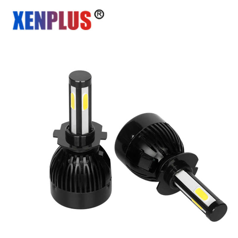Xenplus LED Headlight H7 H4 Auto Car light 6000K 12V H11 H8 H9 9006/HB4 H10/9005/HB3 COB chip Fog light Lumens 4000LM G20
