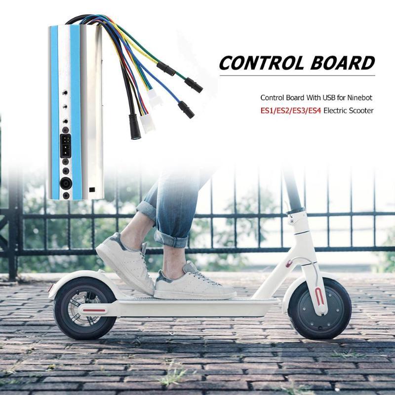 Carte de commande avec USB pour Ninebot ES1/ES2/ES3/ES4 Scooter électrique Code Source contrôleur extérieur vélo Scooter partie nouveau