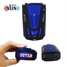 Detector coche Nuevo Coche Detector de Radar 16 Banda V7 Voz de Alerta anti radar Laser detector de Pantalla LED
