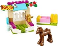 Bevle Bela 10533 Friends 43Pcs Horse Stable New Style Hot Sale Building Block Bricks Toys Compatible