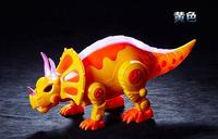 Remote Control Lighting Electric Dance Music Triceratops Dinosaur Toy Model Children Gift Ready to go Battery Operated Animal