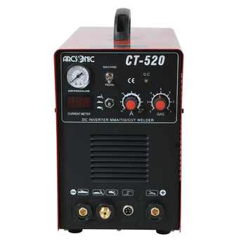 IGBT 3 in 1 CT520D welding machine CUT 50Amps TIG 200Amps MMA 200Amps welding cutting 190V-250V clean cutting thickness 12mm - DISCOUNT ITEM  0% OFF All Category