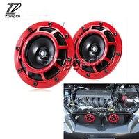 ZD 2X Car styling For Renault Megane 2 3 Duster VW Touran Passat B6 Golf 7 T5 T4 Fiat 500 Air Horn alarm loudspeaker Blast Tone