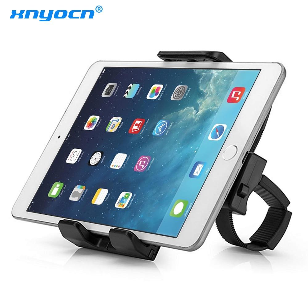 Xnyocn Flexible Buckle Mount Holder Indoor Gym Handlebar On Exercise Bikes Mobile Phone Bracket For IPad Samsung Tablet Stand