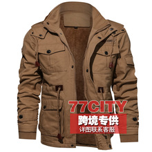 cdc0ace9a77a4 2019 Real Bomber Jacket Men Cross-border For Speed Sell Through Ebay Amazon  Men Thickening