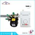 Yongkang Kitchen Cooking Gas Leak Alarm with DN20/DN25 Manipulator Valve for Gas Pipeline Shut Off