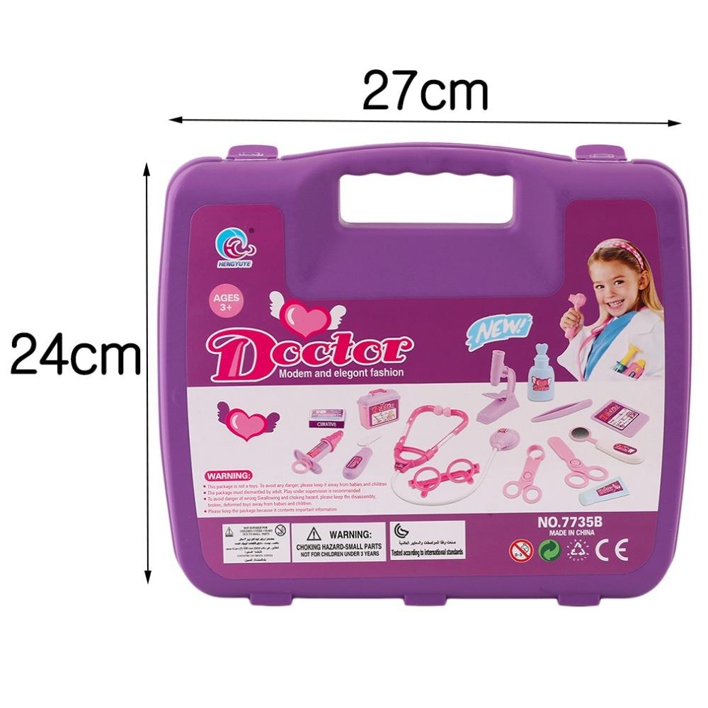 아이 의사 장난감 척 놀이 세트 어린이 의사 세트 약 - 역할연기 - 사진 6
