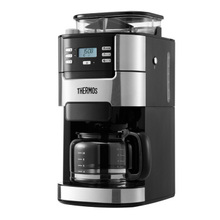 Full Automatic Cafe American Drip Coffee Maker Home Coffee Grinder Dual-purpose Coffee Machine Commercial Tea Boiling Pot Device