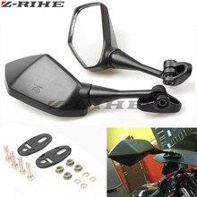 Motorcycle Mirrors Racing Sport Bike Rear View Mirror For Honda CBR F4 F4i/RC51/ RVT1000 DD250E/300/350 HYOSUNG black