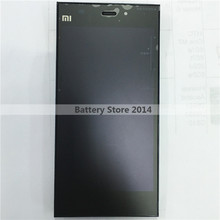 New Original for xiaomi mi3 xiaomi M3 LCD Display Screen +Frame +Touch Digitizer Glass Assembly