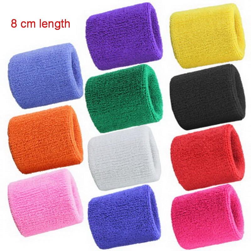 1Pcs Wrist Sweatband Tennis Sport Wristband Volleyball Gym Wrist Brace Support Sweat Band Towel Bracelet Protector 8 /11 /15 cm 4