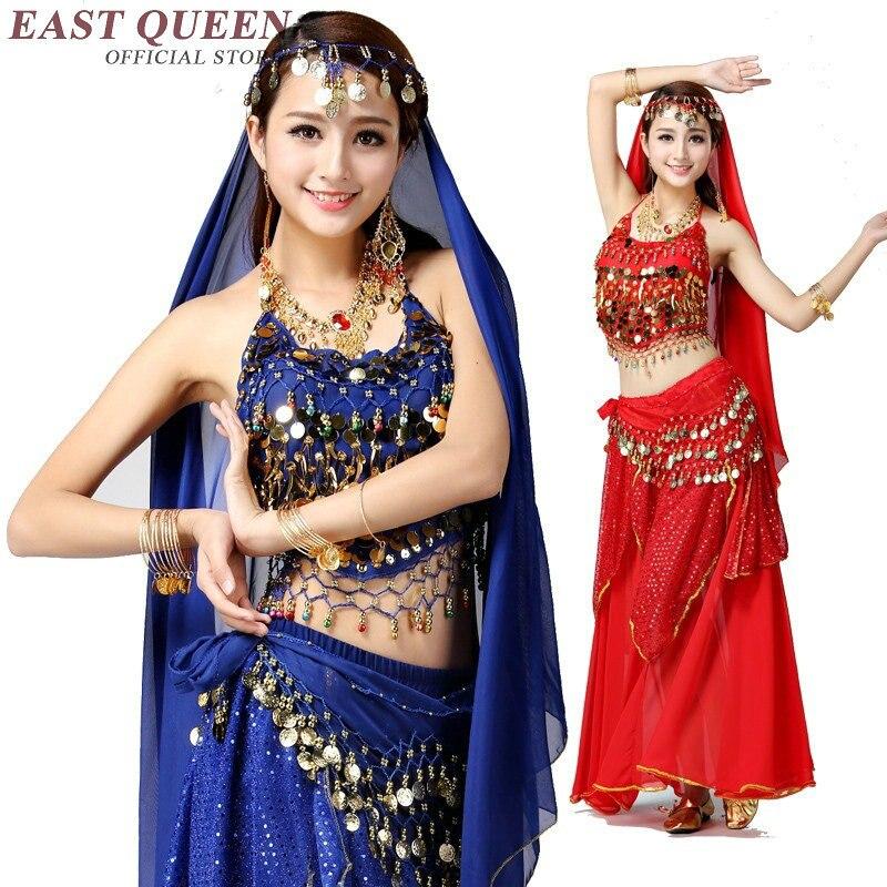 Costumes de danse du ventre bollywood sari vêtements de danse du ventre robes indiennes sari vêtements indiens costume de danse du ventre KK1361 H