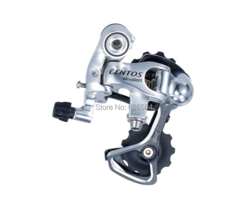 microSHIFT 10 Speed Rear Derailleur Short Cage For Shimano Road Bike Rear Yellow