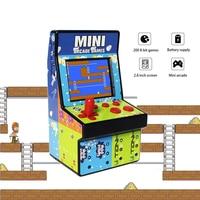 Mini 8 Bits Retro Game Console Handheld Portable Classic Arcade Console Box 2.8 inch Screen Built in 200 games gift for Children