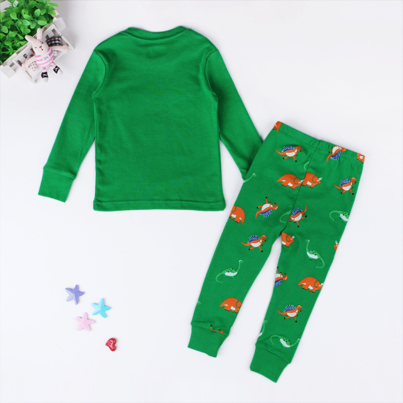 c58a0d62b Kids Unisex Christmas Pyjama Set Girls   Boys Dinosaur Printed Home ...