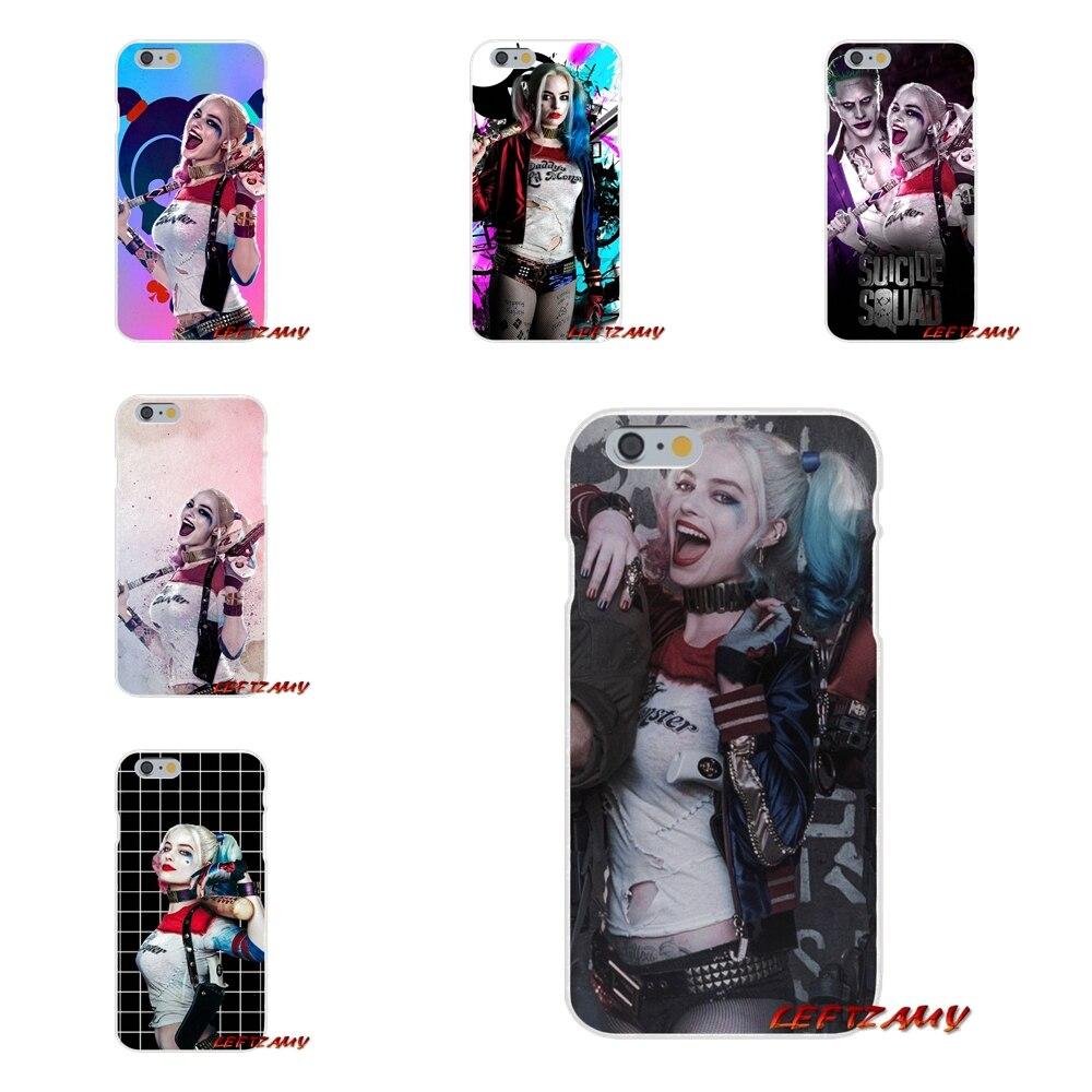 suicide squad Joker harley quinn Slim phone Case For Motorola Moto G LG Spirit G2 G3 Mini G4 G5 K4 K7 K8 K10 V10 V20 V30