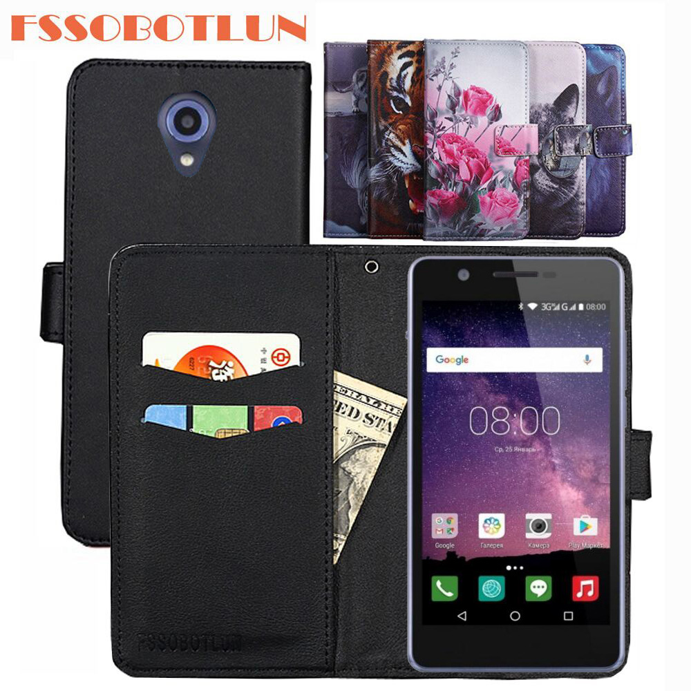 FSSOBOTLUN For <font><b>Philips</b></font> <font><b>S386</b></font> Case PU Leather Retro Flip Cover Magnetic Wallet Cases Kickstand Strap For <font><b>Philips</b></font> <font><b>Xenium</b></font> <font><b>S386</b></font> image