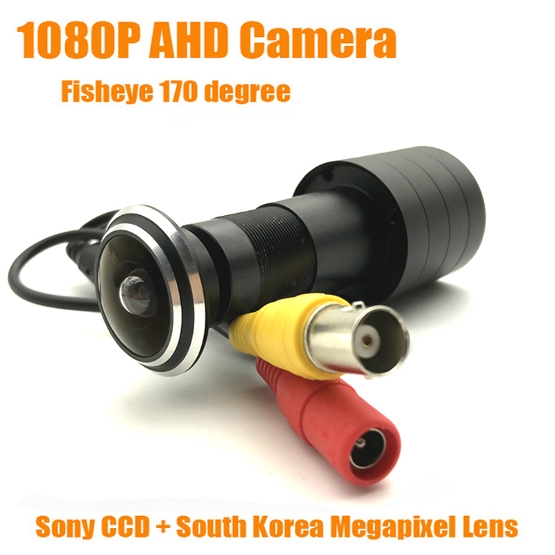 1080P 2MP HD Indoor Door Eye Peephole Color AHD Home Security Camera SONY IMX323 StarLight 0