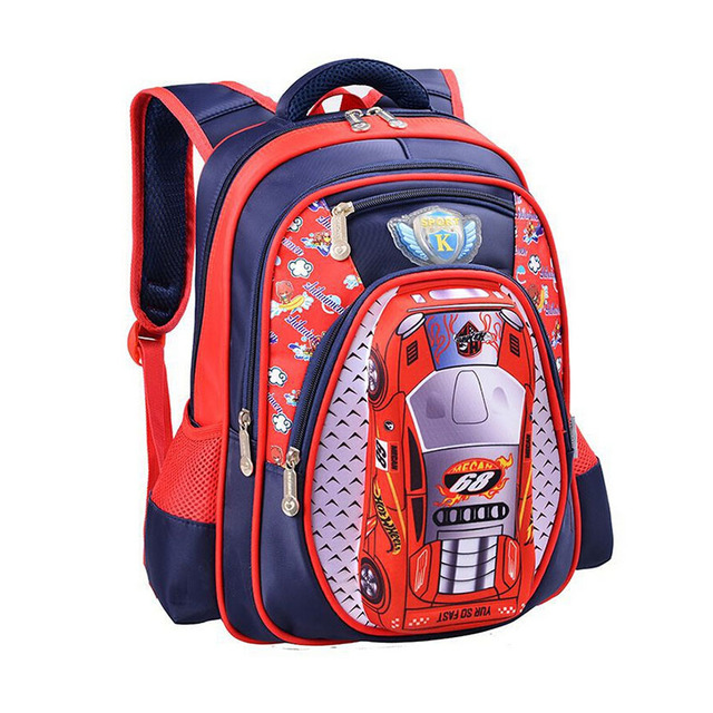 efdc87673838 2017 student School bag Waterproof Backpack Grade 1 - 3 school bags Child  Kids 3D Cartoon